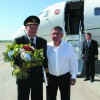 Пилот Минниханова ушёл на пенсию. Президент проводил его лично