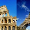 Семейный отдых: что предпочесть – римские или французские каникулы?
