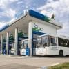 В Казани запустили автобусы на метане