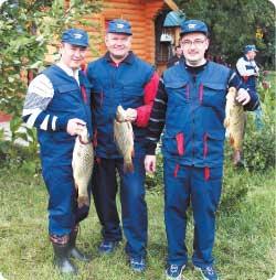корпоративный день рыбака