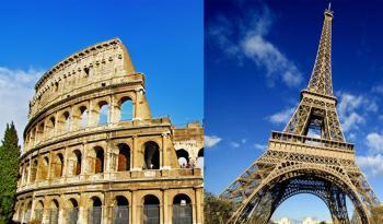 Париж + Рим!